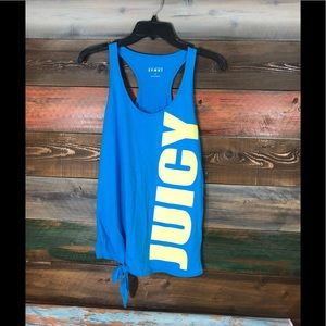 Juicy Couture Racerback Tank Top; Size Small